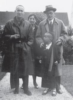 Brecht, Weigel and Stefan Brecht, Berlin 1932