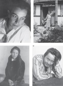 Helene Weigel, Moscow 1933 / Helene Weigel, Denmark 1935 / Elisabeth Hauptmann, Berlin 1932