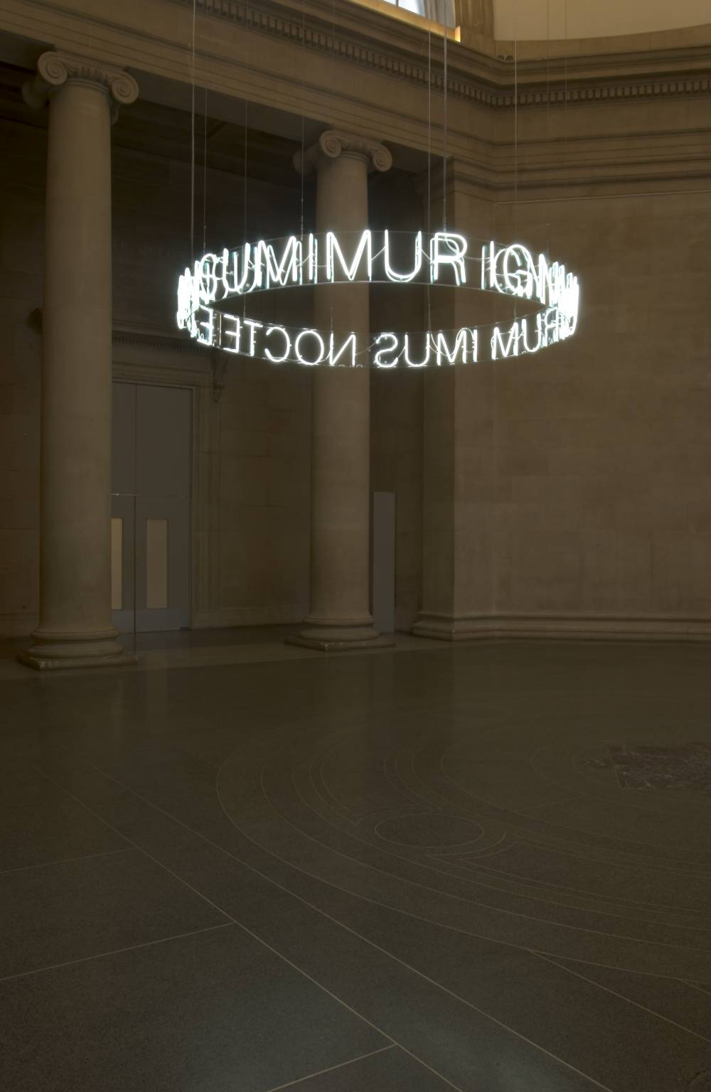 In Girum Imus Nocte et Consumimur Igni 2006 by Cerith Wyn Evans born 1958