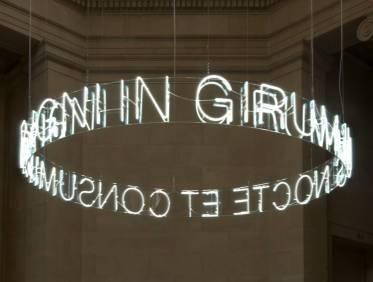 In Girum Imus Nocte et Consumimur Igni 2006 Cerith Wyn Evans born 1958 Purchased 2006 http://www.tate.org.uk/art/work/T12314