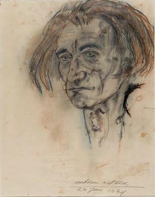 Artaud | Self-Portrait 1947