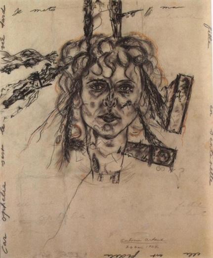 Artaud | Portrait of Paule Thevenin